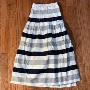 Blue and White Skirt, NWOT